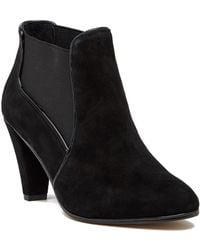 Tahari | Chase Suede Bootie | Lyst