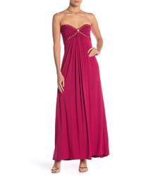 Sky - Zuzzy Strapless Maxi Dress - Lyst