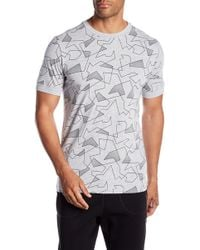 Jack & Jones - Short Sleeve Print Tee - Lyst