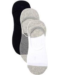 Frye - Sneaker Liner Socks - Pack Of 3 - Lyst