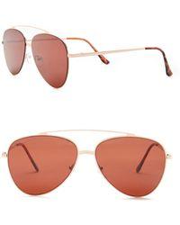 William Rast - Men's 57mm Aviator Sunglasses - Lyst