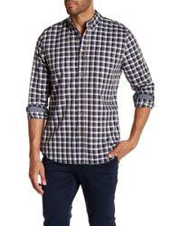 AG Jeans - Standard Fit Plaid Long Sleeve Dress Shirt - Lyst