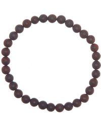 Link Up - Matte Iron Jasper Beads Bracelet - Lyst