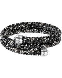 Swarovski - Crystal Dust Bangle Bracelet - Lyst