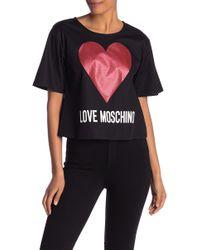 Love Moschino - Corta Blusa - Lyst
