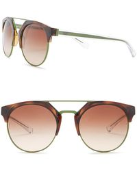 Emporio Armani - Women's Clubmaster 53mm Metal Frame Sunglasses - Lyst