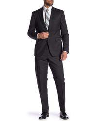 Vince Camuto - Black Plaid Slim Fit 2-piece Suit - Lyst