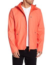 Save The Duck - Short Hooded Raincoat - Lyst