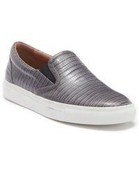 BOSS - Croc Emed Slip On Sneaker - Lyst