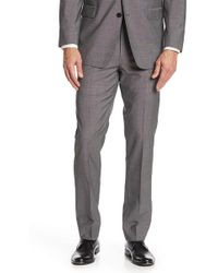 "Brooks Brothers - Grey Sharkskin Wool Regent Fit Suit Separates Trouser - 30-34"" Inseam - Lyst"