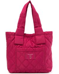 Marc Jacobs - Small Diamond Quilted Tote - Lyst
