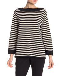 e2e49da91c909 Lyst - Guess Zalika Sleeveless Turtleneck Sweater in Black