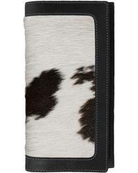 ILI - Unique Genuine Calf Hair Wallet - Lyst