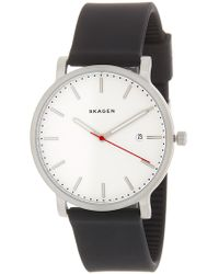 Skagen - Men's Silicone Strap Watch, 40mm - Lyst