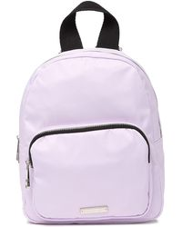 38e442a9ee1 Madden Girl Stripe Jersey Backpack in Black - Lyst
