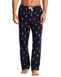 Joe Fresh - Printed Flannel Pants - Lyst