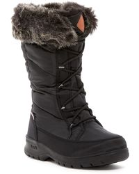 Kamik - Yonkers Waterproof Faux Fur Boot - Lyst