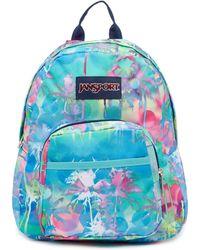 Jansport - Half Pint Mini Backpack - Electric Palm - Lyst