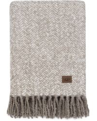 "UGG - Pismo Throw - Light Fawn - 50""x60"" - Lyst"