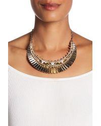 Jenny Packham - Fan Frontal Necklace - Lyst