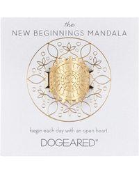 Dogeared | The New Beginnings Mandala Ring - Size 5 | Lyst