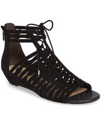 69cb657a8c6 Lyst - Vionic Pippa Twisted Knot Sandal - Wide Width Available in Black