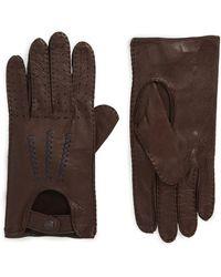 John Varvatos - Deerskin Driving Gloves - Lyst