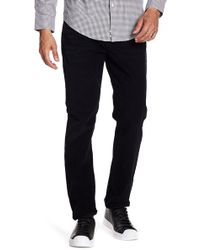 7 For All Mankind - Adrien Corduroy Slim Straight Trousers - Lyst
