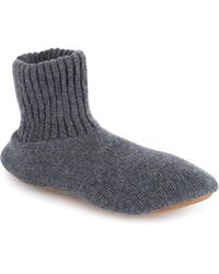 Muk Luks - Ragg Wool Blend Slipper - Lyst