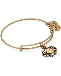 ALEX AND ANI - Crab Single Expandable Wire Charm Bracelet - Lyst