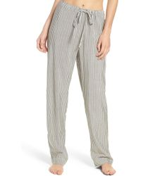 Lacausa - Stripe Pyjama Trousers - Lyst
