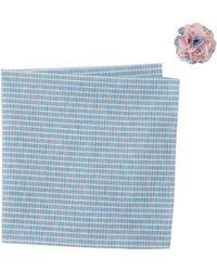 Original Penguin - Morea Stripe Pocket Square & Lapel Pin Set - Lyst