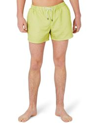 TOPMAN - Marl Print Swim Trunks - Lyst