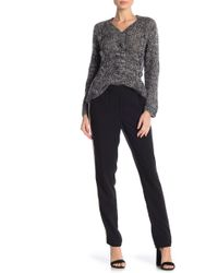 Anna Sui - Solid Crepe Pants - Lyst