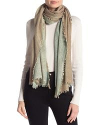 Bindya - Lovable Wool & Cashmere Blend Reversible Stole - Lyst