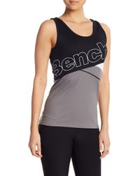 Bench - Colorblock Logo Tank Top - Lyst
