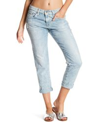 Big Star - Billie Cropped Slouchy Skinny Jeans - Lyst