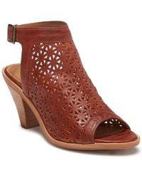 Trask Paisley Leather Sandal uk5g7hnAv