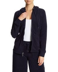 Marc New York - Terry Cloth Zip Up Hoodie - Lyst