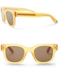 1b0e84c321 Givenchy - Round 50mm Star Sunglasses - Lyst