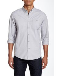 Oakley - Demand Woven Long Sleeve Regular Fit Shirt - Lyst