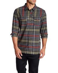 Oakley - Logistic Plaid Woven Long Sleeve Shirt - Lyst