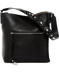 Cate Riley - Tia Embellished Leather Hobo - Lyst
