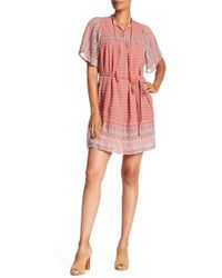 Lucky Brand - Jenna Printed Dress - Lyst