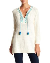 Tommy Bahama - Front Tassel Knit Jumper - Lyst