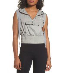 PUMA - En Pointe Half Zip Pullover - Lyst