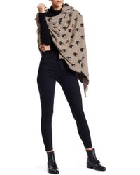 360cashmere - Wool & Cashmere Blend Jack Blanket Shawl - Lyst