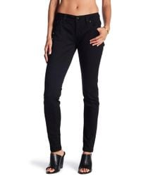 Miss Me - Embellished Solid Easy Skinny Jeans - Lyst