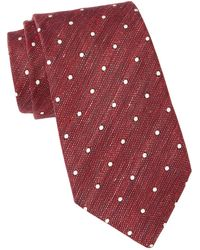 John Varvatos - Wide Tie - Lyst