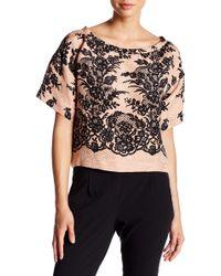 Tracy Reese - Linen & Silk Blend Sweatshirt - Lyst